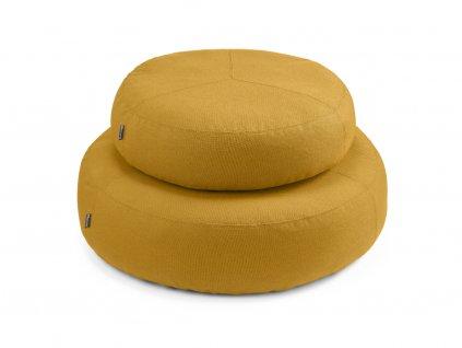Puf pro psy MiaCara Stella žlutý