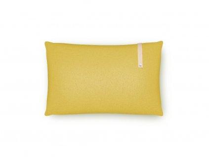 Polštář do pelíšku Labbvenn Norra Kedüm obdélníkový žlutý