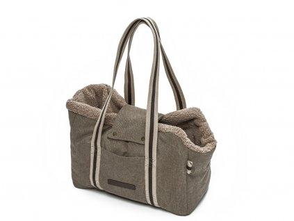 sportovní cestovní taška pro psy Cloud7 Lucca béžová
