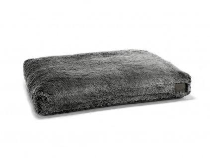 Povlak na pelíšek pro psa MiaCara Felpa šedý