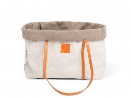 Cestovní taška pro psy Duepuntootto Annie šedá