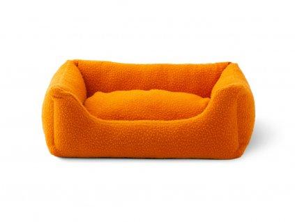 Pelíšek pro psa DuepuntoOtto Henri oranžový