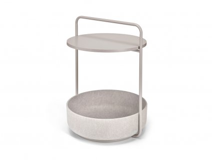 Odkládací stolek MiaCara Tavolino nugat