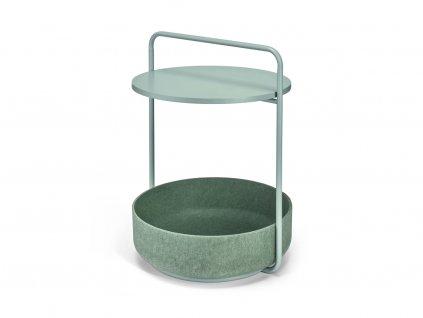 Odkládací stolek MiaCara Tavolino pistáciový