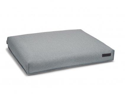 Světle šedý ortopedický pelíšek pro psy
