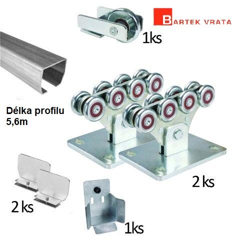 Díly pro výrobu vjezdových bran a vstupních branek