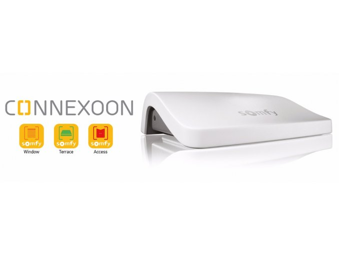 SOMFY Connexoon ® ovládací řídící jednotka pro domácnost DOPRAVA ZDARMA (Barva bílá,)