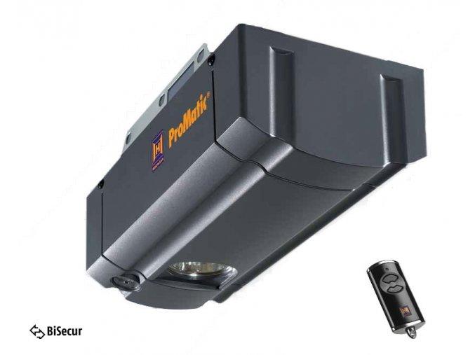 Nedostupné -Hörmann ProMatic serie 3 Bisecur pohon pro sekční garážová a výklopná vrata výměnná hlava pohonu+ dálkový ovladač