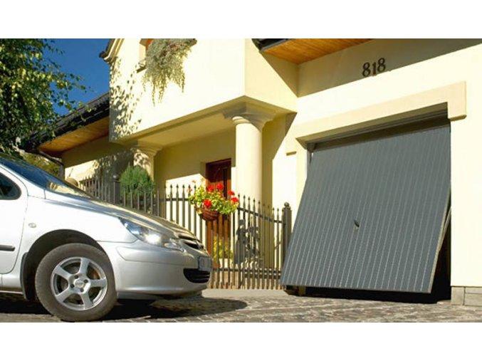 Garážová vrata Hörmann Berry typ N 80 rozměr 2375x 2000 a rozměr  2500 x 2125 barva Ral 7016 antracit (Barva RAL 7016 Antracit)