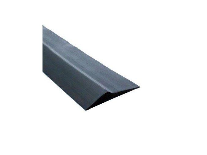 Těsnění podlahové pro sekční garážová vrata -práh proti přívalovému dešti