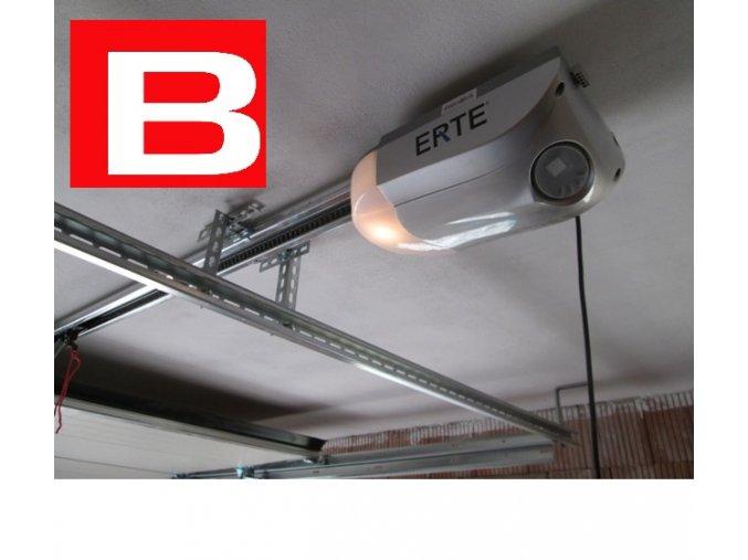 AKCE ERTE 4015-800 Nm SZ11-nylon /do plochy vrat 10m2/ nylon řemen,silný stropní pohon pro garážová sekční a výklopná vrata 2 kusy ovladačů ZDARMA