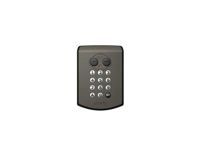 Somfy kódovací klávesnice RTS bezdrátová 2-kanál, 433,42 MHz pro pohony vrat a bran SOMFY