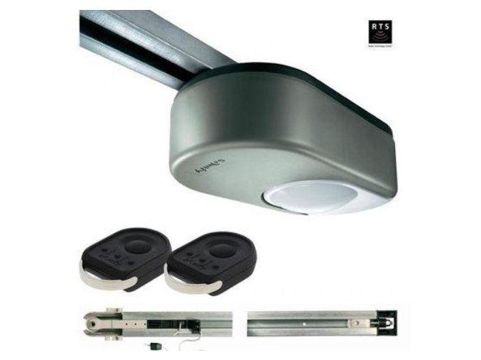 AKCE Stropní pohon SOMFY Dexxo Pro 1000 RTS-2900-řetěz pro sekční vrata do 15 m2 + 2 ks dálkových ovladačů Záruka 5 let