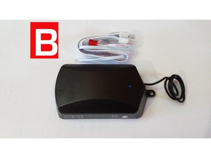 DoorMax-externí příjmač UR 01-24 V pro garážová vrata a brána 4-kanálový frekvence 433,92 MHz