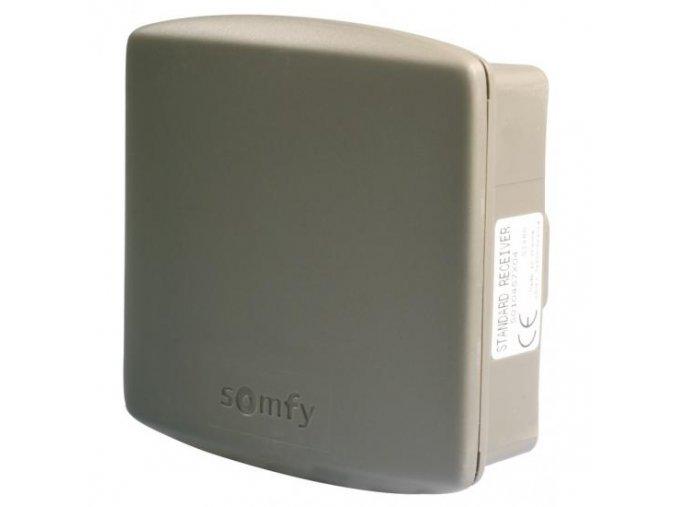 SOMFY standartní receiver externí příjmač RTS napájení 24V