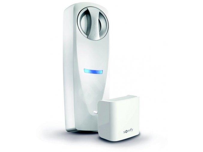 Somfy Doorlock  zámek +Internet Gateway, sada zámek +vložka, 3x klíč, 3x kryt, 4x AAA baterie, šrouby, 2x šroubovák (Barva bílá, stříbrná, zlatá)