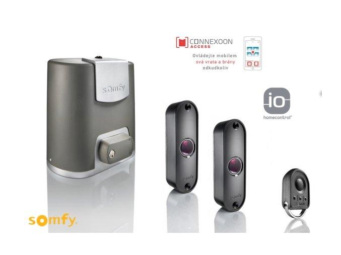 AKCE SOMFY Elixo Smart-io-Connexoon sada dálkový ovladač fotobuńky a Connexoon ovládání pro mobilní telefon DOPRAVA ZDARMA