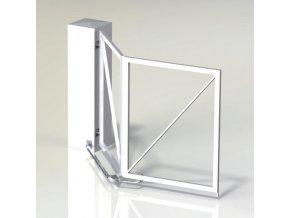 Brána křídlová skládací set TWIN-DRIVE-3.0 - pro 1-křídlové brány, průjezd do max  3 m