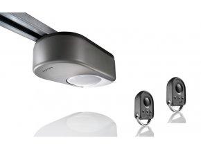 AKCE Stropní pohon SOMFY Dexxo SMART io-dráha 2900 SZ nylon řemen-Technologie io-homecontrol® Akce 2 kusy dálkových ovladačů+ ZÁLOŽNÍ ZDROJ