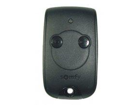Somfy Keytis 2 NS RTS  2 -kanálový 433,42 MHz dálkový ovladač pro pohony Somfy  (Barva černá matná)