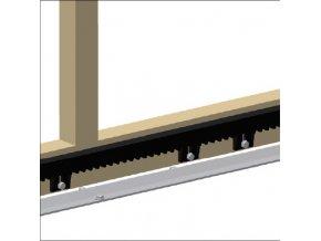 Hřeben nylonový délka 1 m Somfy +spojovací materiál ZDARMA
