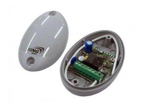 Fred Myo 2 Externí přijímač 2-kanál, 480 kódů pro garážová vrata a brány Universalní+ dálkový ovladač STILO 4K