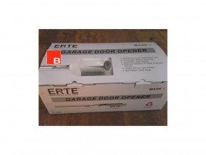 ERTE 4015 1000 Nm SK12-řetěz /15m2/silný stropní pohon pro garážová sekční a výklopná vrata do výšky vrat 2950 mm AKCE 2 kusy dálkových ovladačů ZDARMA-nedostupné
