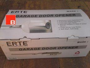 ERTE 4015 1000 Nm SK11-řetěz /do plochy vrat 15m2/ silný stropní pohon pro garážová sekční a výklopná vrata do výšky vrat 2400 mm AKCE 2 kusy dálkových ovladačů ZDARMA