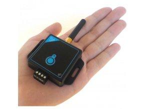 GSM klíč spínač pro  ovládání mobilem iQGSM-R1 Určeno  pro 10 uživatelů (Barva ČERNÁ)