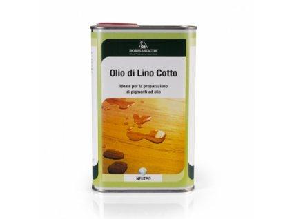 olio di lino cotto