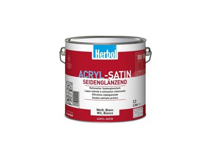 Herbol Acryl Satin bílý 2,5 L
