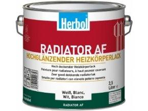 Herbol Radiator AF 2,5l (Heizkörper Weisslack)