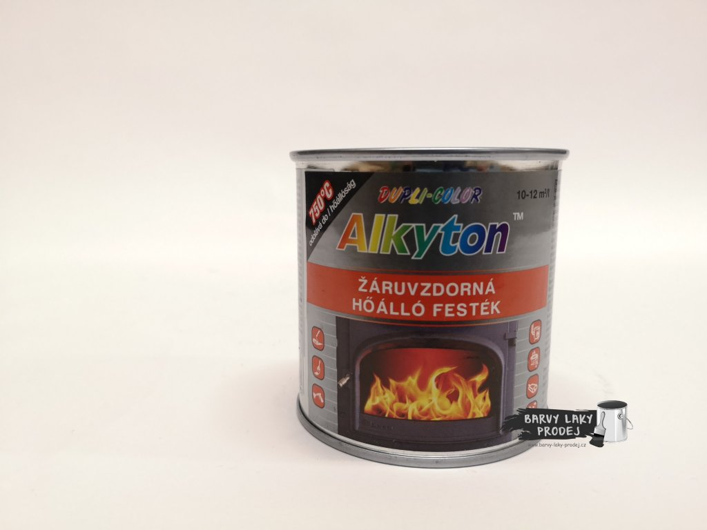 ALKYTON - žáruvzdorný,stříbrný 0,25L
