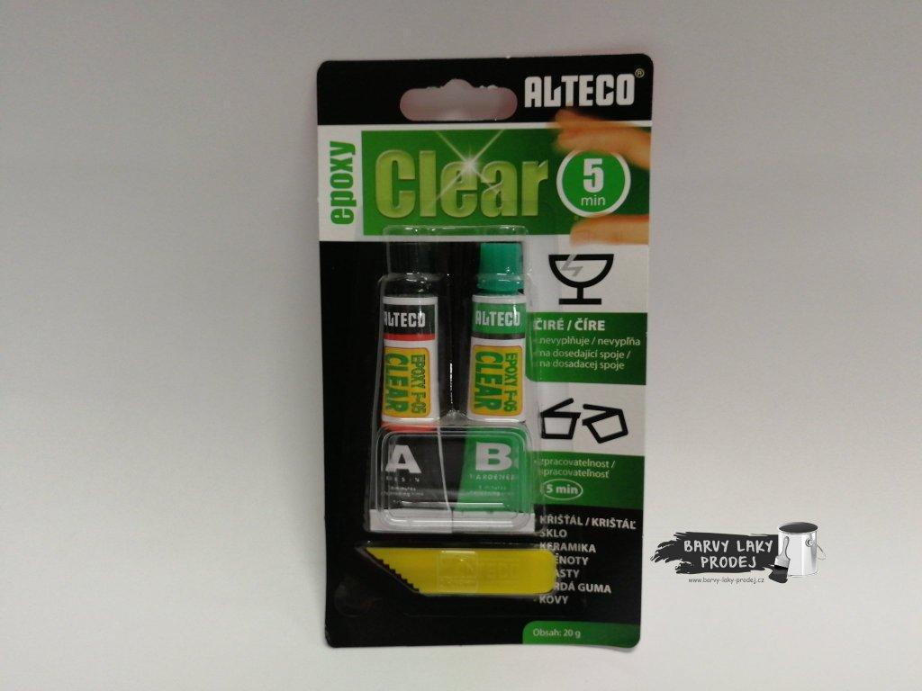 Lepidlo epoxidové ALTECO 3TON CLEAR 20g