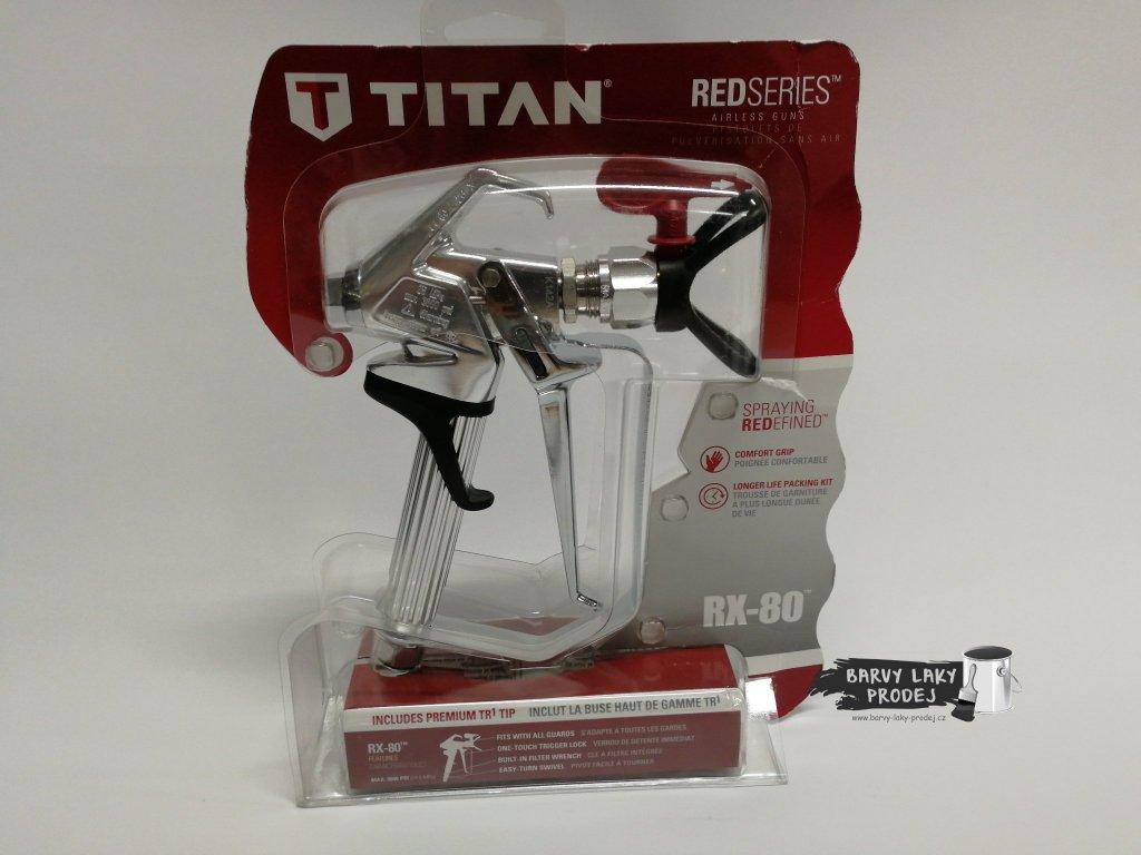 Pistole stříkací vysokotlaká TITAN