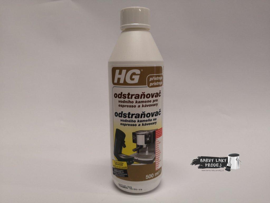HG Odstraňovač vodního kamene pro espresso