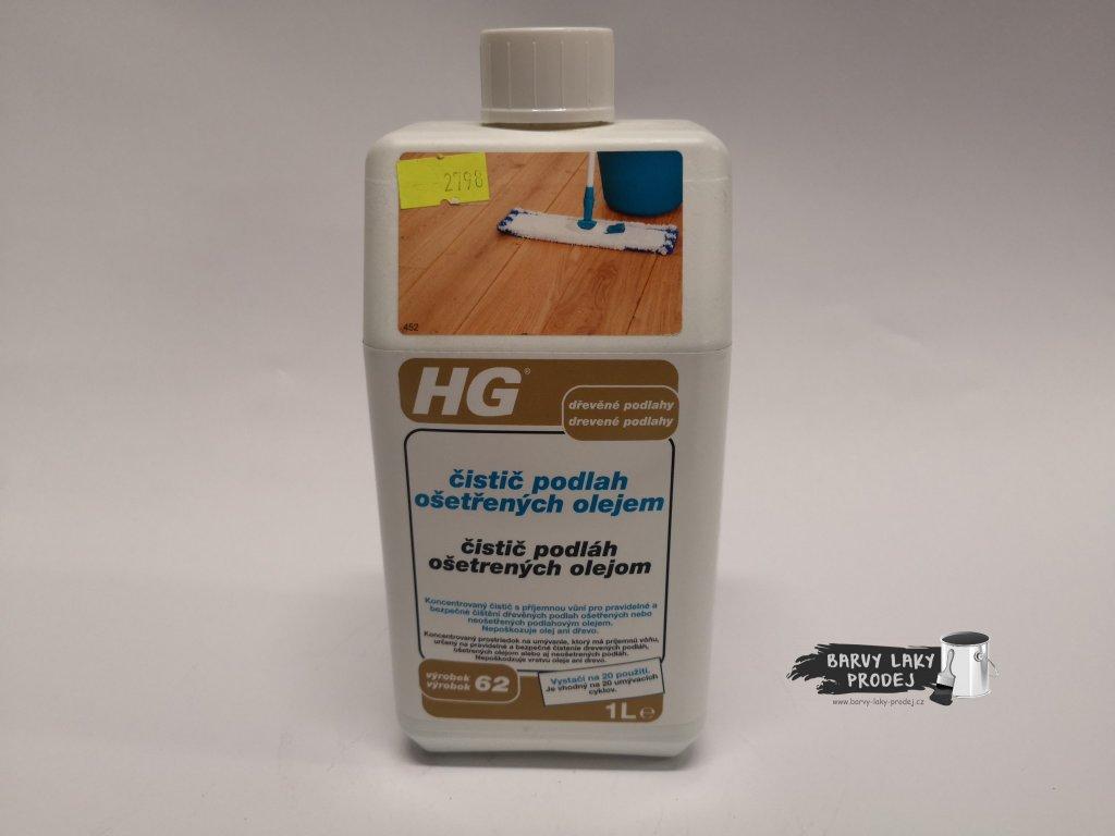 HG Čistič podlah ošetřených olejem 1L