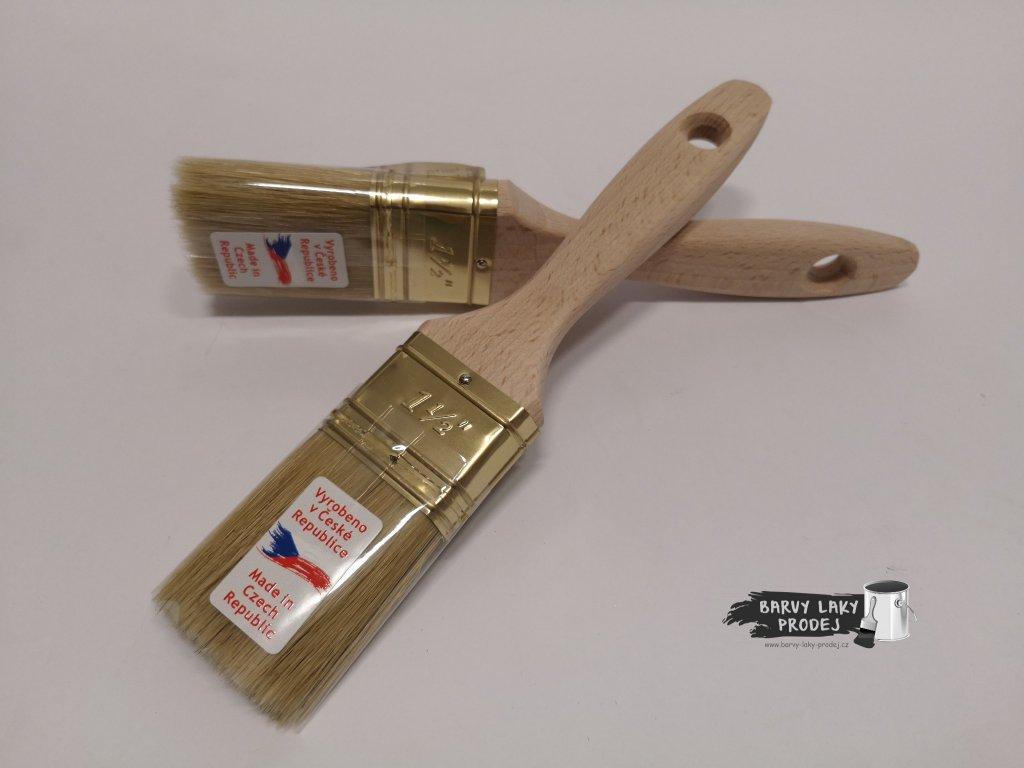 Štětec plochý 1 1/2'' - dřevěný (VALA)