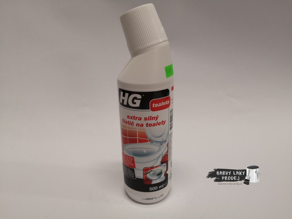 HG Extra silný čistič toalet  500 ml