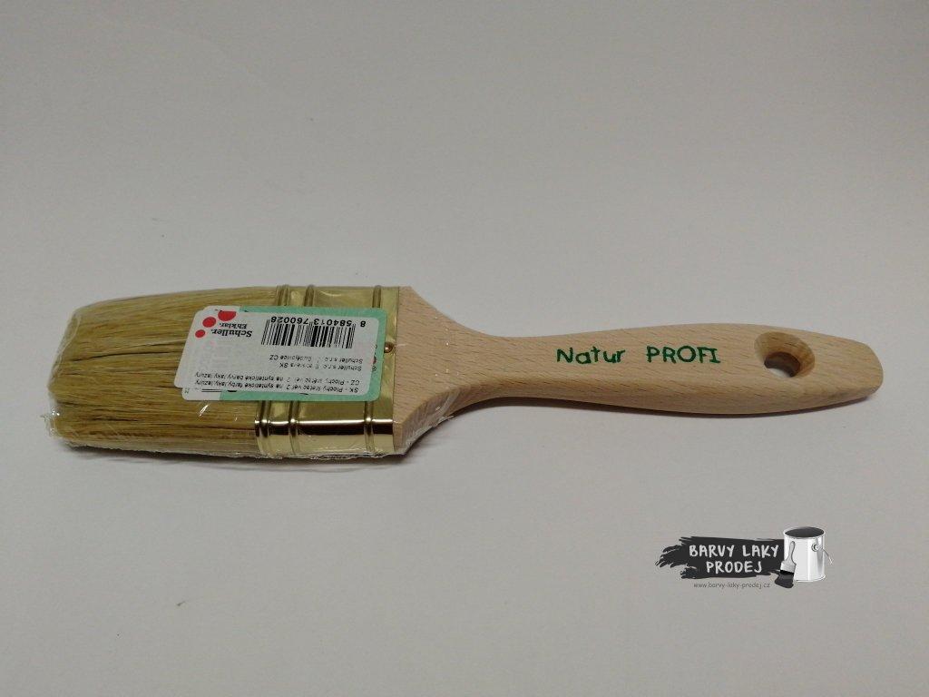 Štětec plochý 2'' - dřevěný (VALA)