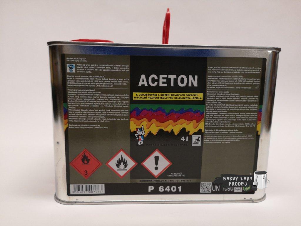 Aceton technický 4L