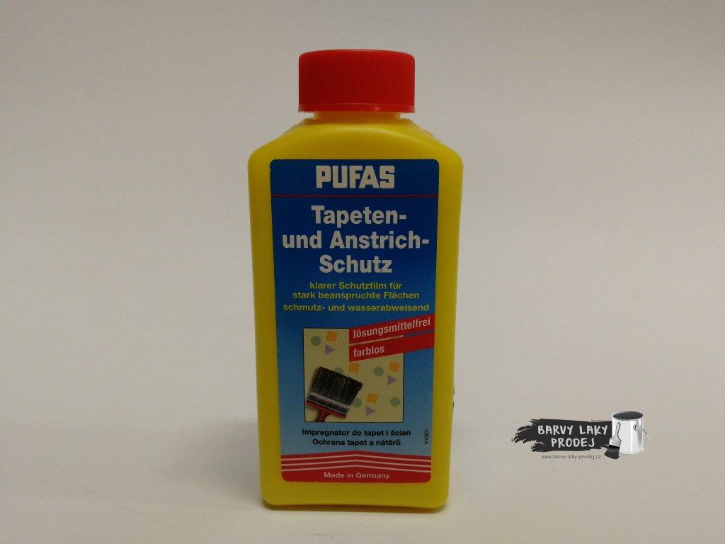 PUFAS - ochrana tapet a nátěrů  250 ml