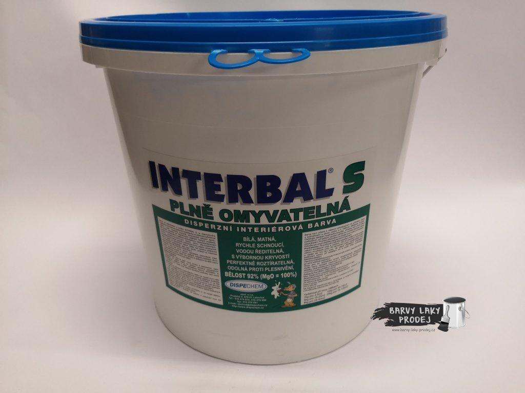 Interbal S - bílá 25kg