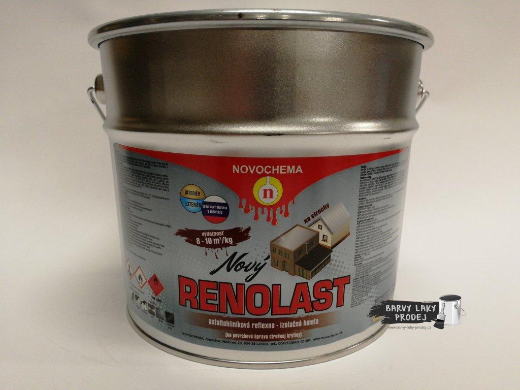 RENOLAST 3kg, asfaltohliníková reflexoizolační nátěrová hmota