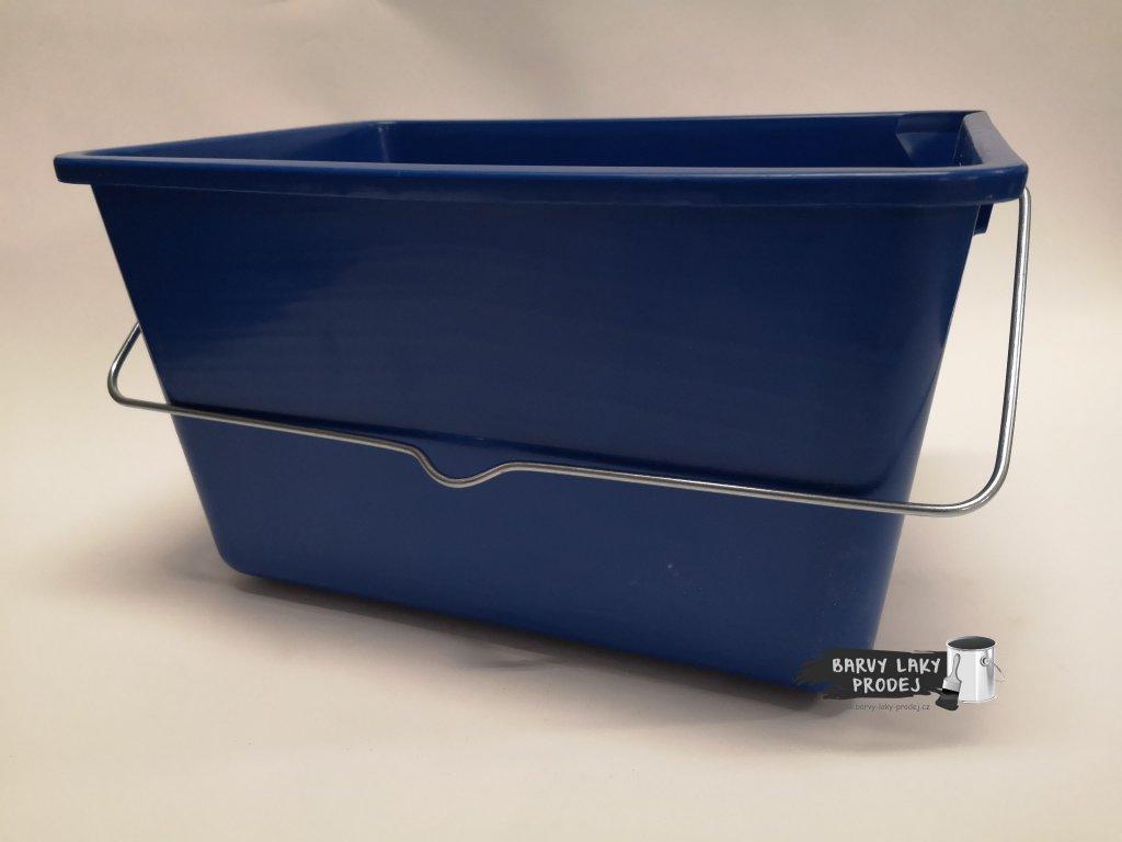 Kbelík na barvu 12,5L čtyřhranný, plast