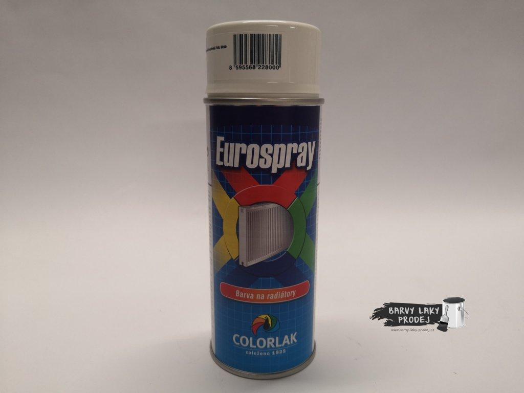 Sprej Eurospray na radiátory, bílý 400ml