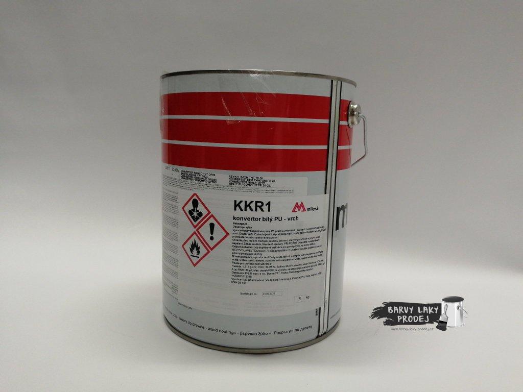 Lak KKR  *5*kg, bílý vrchní lak, polyuretan