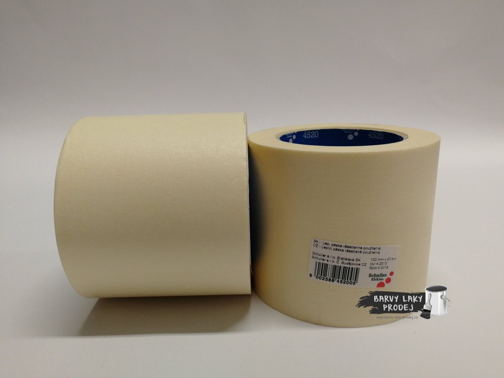 Páska papírová 100mm x 50m (do 60´C)