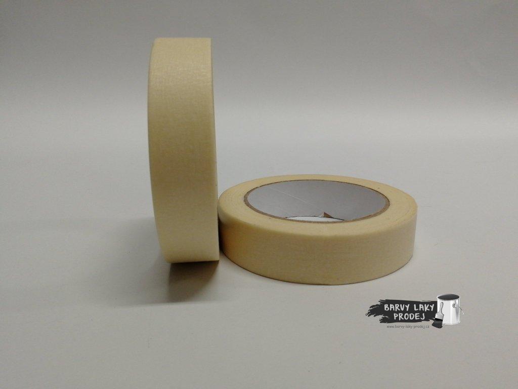 Páska papírová 25mm x 50m (do 90´C)