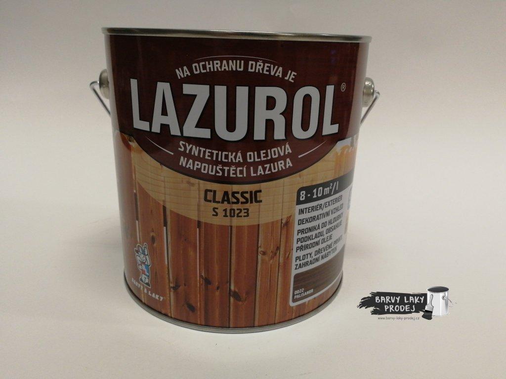 LAZUROL classic S-1023 kaštan 0020 2,5L